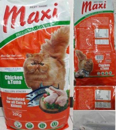 Maxi Premium Cat Food